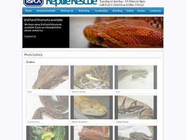 RSPCA Reptile Rescue