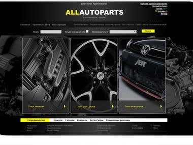 Platform for online auto parts wholesale
