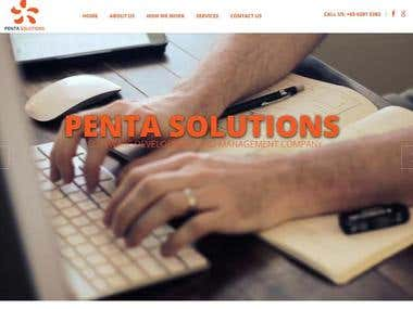 Business Website (Penta Solutions)