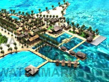 3D Island Design