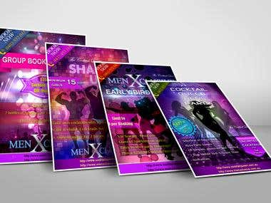 Party Design Flyers