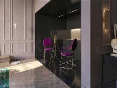 Apartment Interior Design  / Ukraine