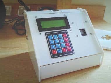 FingerPrint Scanner and Data Recoreder