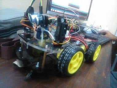 Maze Solver Robot with Proximity Sensors