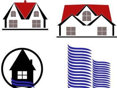 Real Estate vector stock