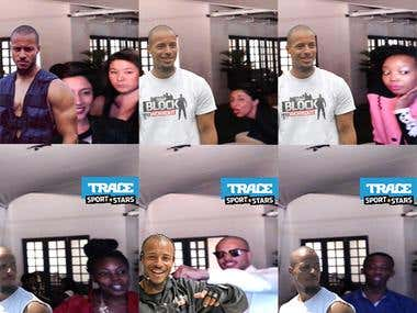 Trace TV Photo Booth Activation