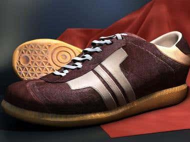 3d Footwear Design