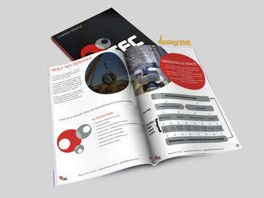 TEC Services Booklet Design