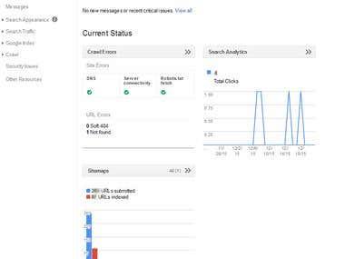 Google Webmaster Tool verify and error solve