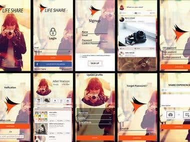 Life Sharing App