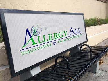 Logo Desing for Allergy All
