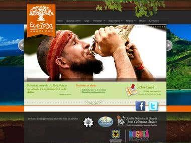 Eco Yoga Festival - Design and Development