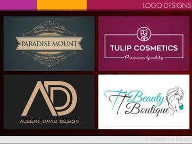 Recent Logo Designs