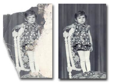 Restoration of old photos