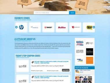 website , logo, banner designing & development