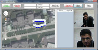 GPS TRACKING APPLICATION (Part of Ground Control Station)