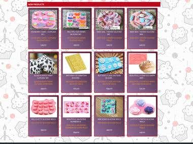 Laravel ,eCommerce, Cake Decoration Shopping Cart