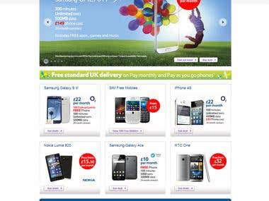 Tesco Phone Shop Mobile Phones SIM Cards Broadband