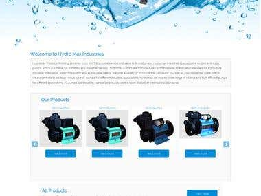 Hydromax Industries WordPress Website