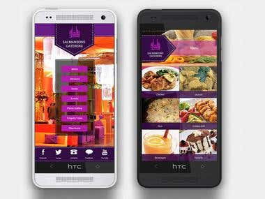 Catering App for Android!