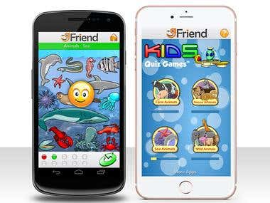 Kids IOS and Android Game for Educational Purposes