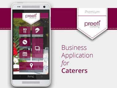 Catering App Design Only