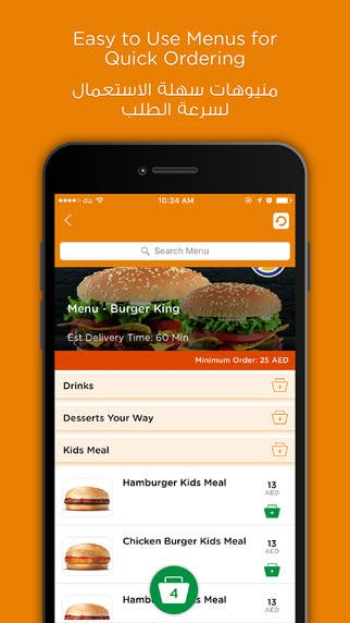 RoundMenu – Order Delivery & Restaurant Reviews