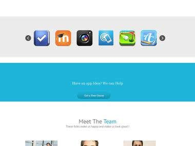 Mobile Apps Portfolio Website