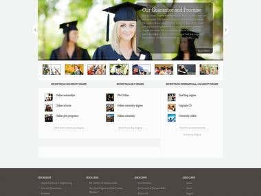Buyuniversitydegrees - Online admission website.