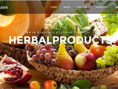 Sreebataexim ecommerce for food export