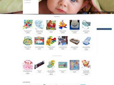 Wordpress Woo Commerce Website