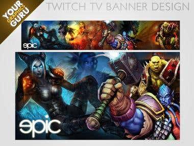 Twitch TV Banner