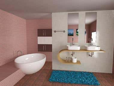 3D INTERIOR BATHROOM