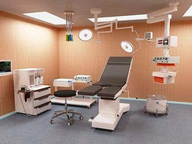 3D INTERIOR OPERATION THEATER