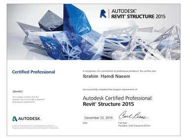 REVIT STRUCTURE CERTIFIED  PROFESSIONAL