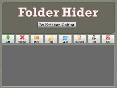 Folder Hider Application
