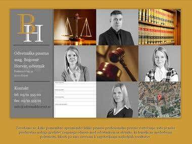 Law Firm website: http://www.odvetnikhorvat.si/