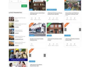 Content Development - http://www.idealpropertiesne.co.uk/