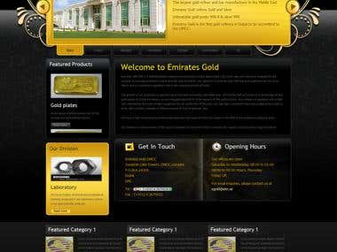 Online Gold Shopping Cart - Joomla/Virtuemart