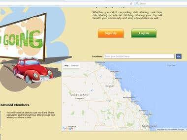 Develope website on Google map API