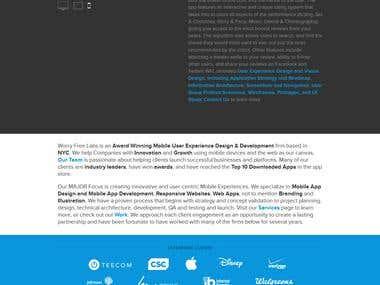 Mobile UX Design & Development Company in New York