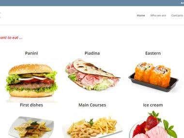 MangioComdo e-commerce website