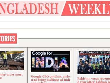 Multi side news portal for Bangladesh.