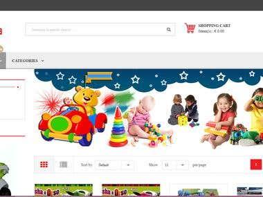 Compralia E-commerce website.