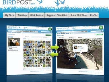 Updated Database with Birds images and information