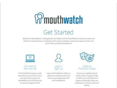 Mouthwatch  in-home oral health care system