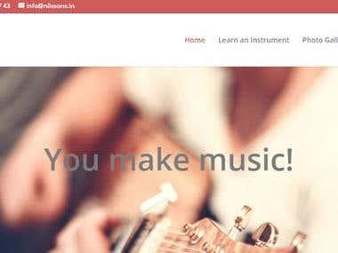 Nilssons Music | You make music!