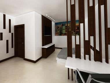 Hotel Room / Habitacion de Hotel