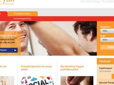 Drupal Site - poFysio