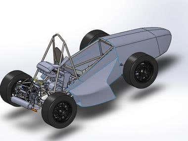 Design of Formula Student Car